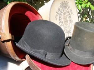 Fra dengang man gik med hat.